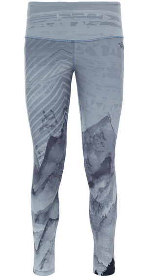 The North Face W's Super Waisted Printed Legging Tnf Black/Mountain Print